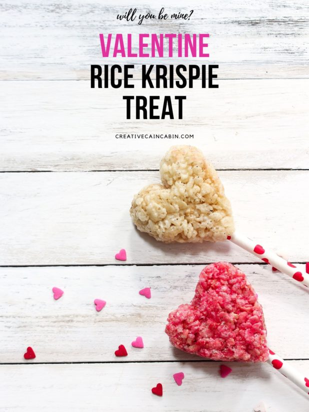Valentine Rice Krispie Treat Recipe