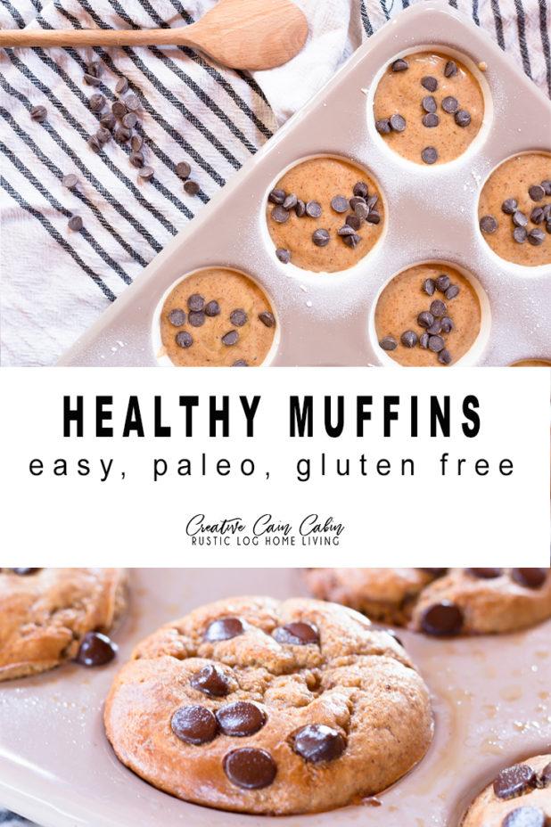 Healthy Muffin Recipe, Easy, Paleo, Gluten Free
