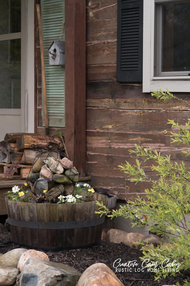 Rustic Junk Gardening
