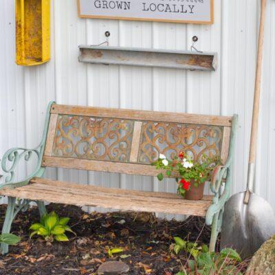 DIY Garden Shed Sign