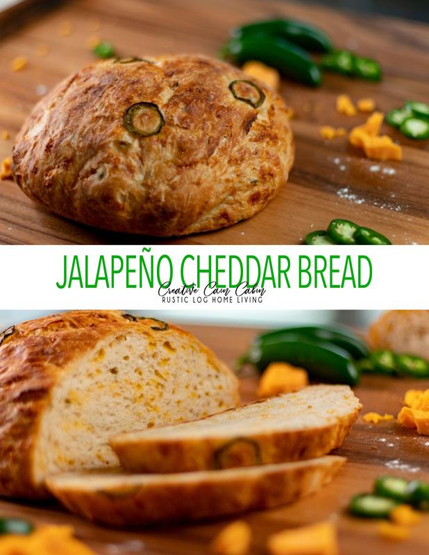Jalapeno Cheddar Bread Recipe