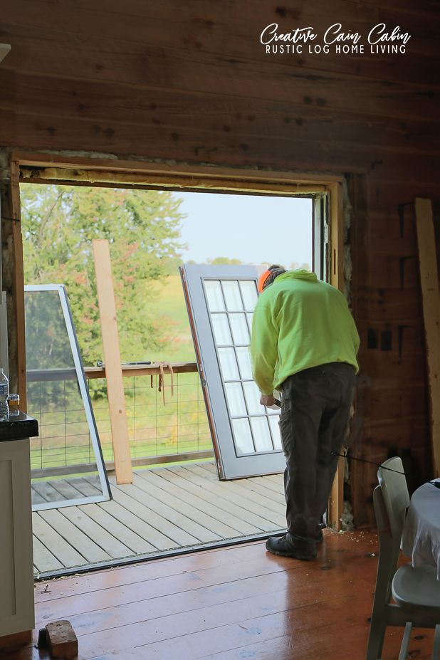 Replacing French Doors