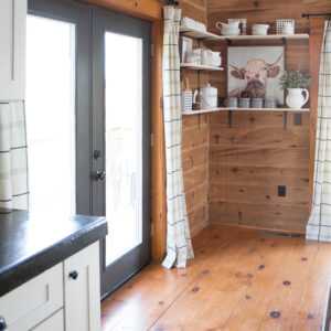 Replacing French Doors In The Cabin