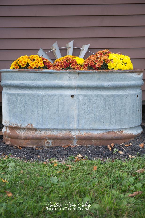 Fall Chicken Coop Decor, Mums, Pumpkins, Corn Stalks, Farmhouse Fall Decor, Chicken Coop Decor