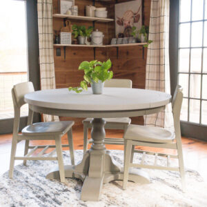 How To Updated A Dining Table and Chairs With Paint