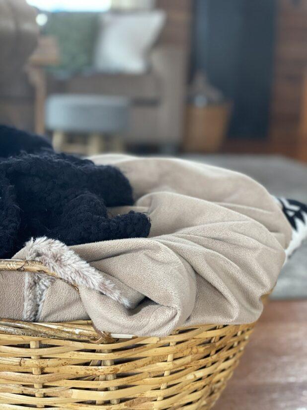 Basket Full Of Blankets