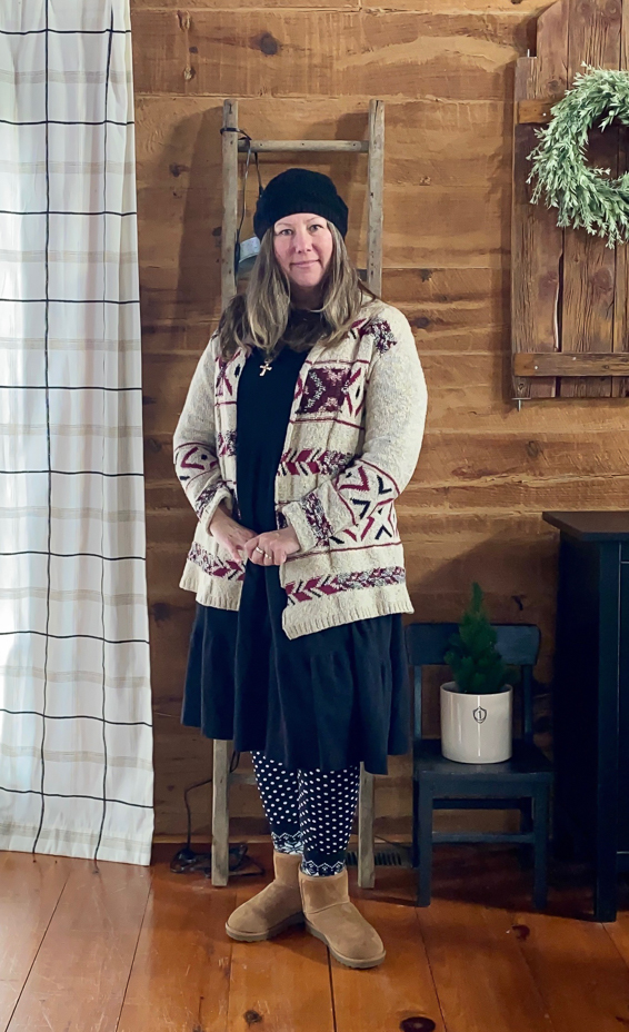 Creative Cain Cabin, Comfy Cozy Clothes For Winter
