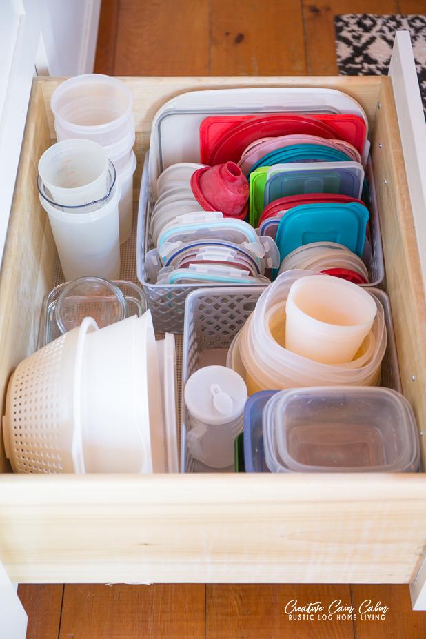 How To Keep Food Storage Lids Organized