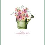 Wildflower, Daisy, and Lavender Printable Art
