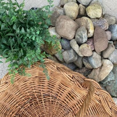 Outdoor Centerpiece That Wont Blow Away Or Need To Be Watered