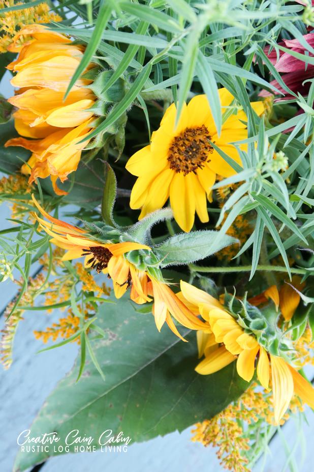 Sunflower, Fall, Bouquet